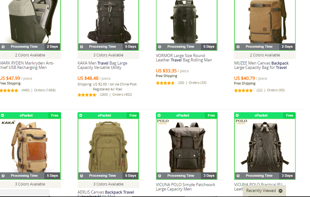 lazada backpacks