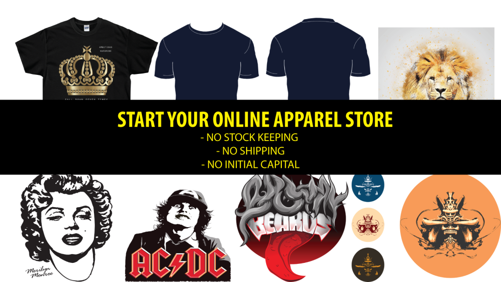 "Hei guys , Are you looking for setting up your own online apparel shop ,but scare of the risk and high set up cost ? You are in luck !!!! You can now set up your own online apparel dropshipping shop with your own t-shirt design with shopify ! Step 1: Log into your shopify account Step2 : click on sales channer Step 3: Click on visit shopify apps store Over here you can look for tonnes of apps that you want to install into your shopify store. This include selling on amazon ,ebay and dropshipping from aliexpress . Step 4: lets search for the keyword ""t-shirt "" those are the apps that we can use to set up our first online store. SOme are free , some need to pay. Lets choose printify , as i feel that it is much more easy to use . You can try others if you want . Step 5: install printify. it is pretty staright forward. Step 6: create your printify account by creating your pw You are set to go !! Lets try create our very first products . there are alot of variety that you can choose from , from ,t-shirt to hoody to bags and mugs. Lets choose a t -shirt add your own design"