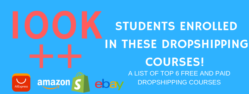 THE COMPLETE LIST OF FREE AND PAID TOP DROPSHIPPINg COURSES IN THE MARKET , AT THE BELOW LINK .