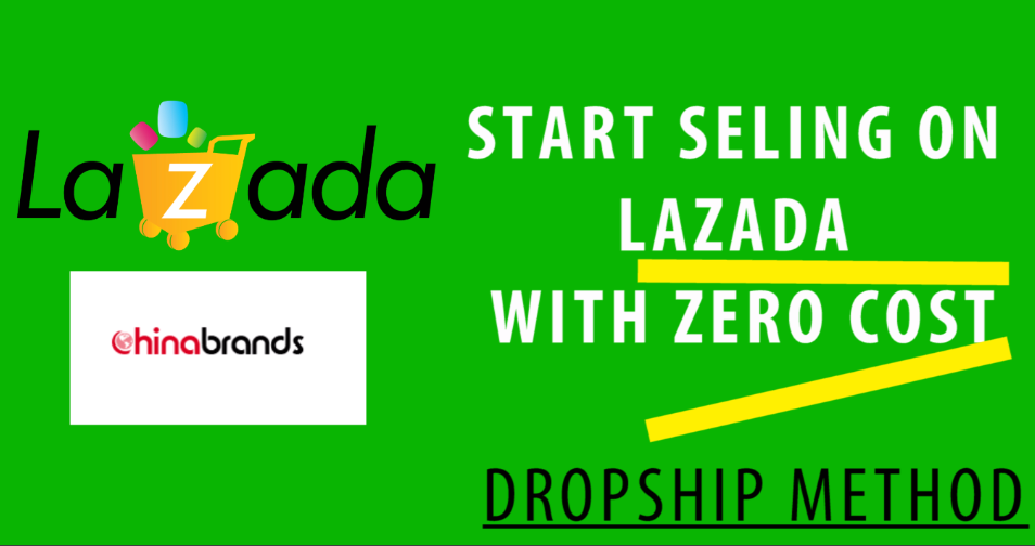 i am going to show you how you can start to sell on lazada using dropshipping with chinabrands.com with zero start up cost, NOinventory and definitely no shipping need to be handled.