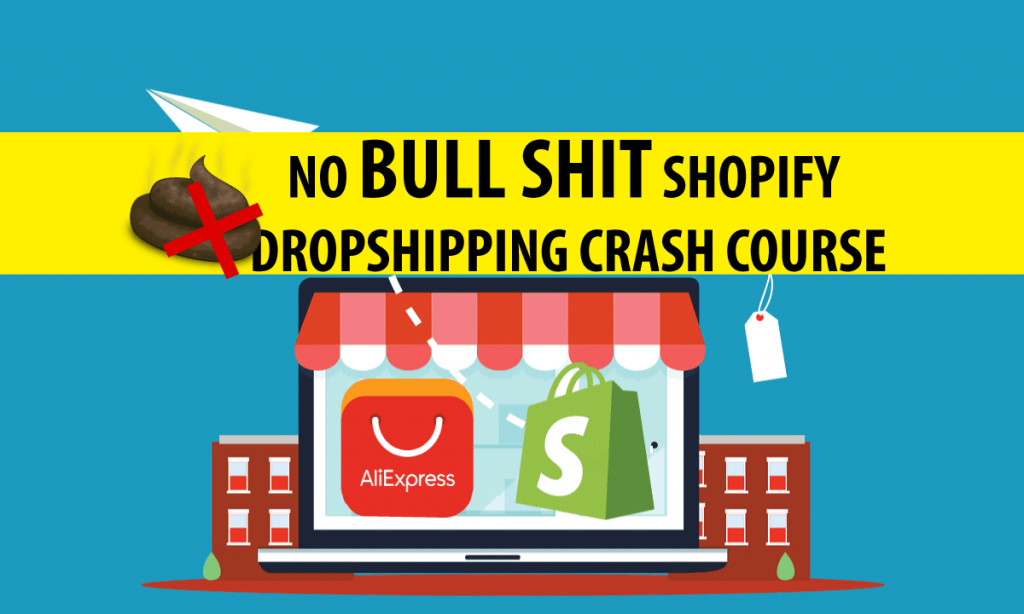 In this free shopify crash course , you can expect nothing more than a step-by-step, how to build a highly profitable eCommerce store, from Zero. You don't need any prior knowledge of eCommerce or any technical skills ,i always says , even my grandma can start a dropshipping business with this course. This is a clear , simple , easy and no bull shit video course .You will not see irrelevant lengthy information about dropshipping with Shopify material over here .
