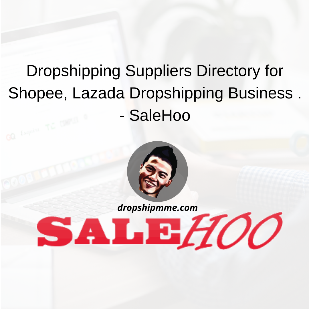 Dropshipping Suppliers Directory for Shopee, Lazada Dropshipping Business ,In this video I am going to show you a website where you can search for thousands of suppliers for your dropshipping business .