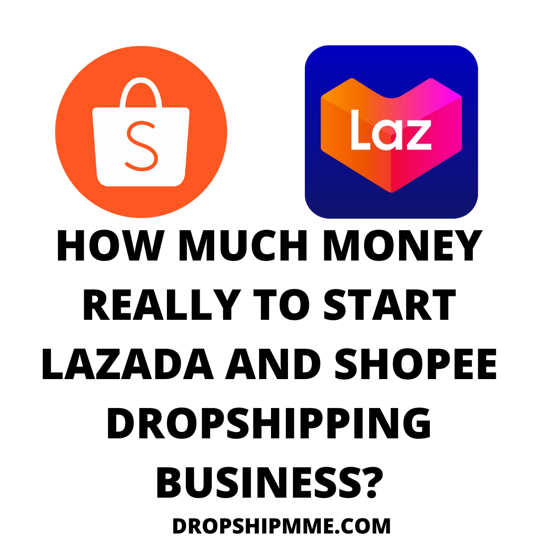 💰HOW MUCH MONEY REALLY TO START LAZADA AND SHOPEE DROPSHIPPING BUSINESS?