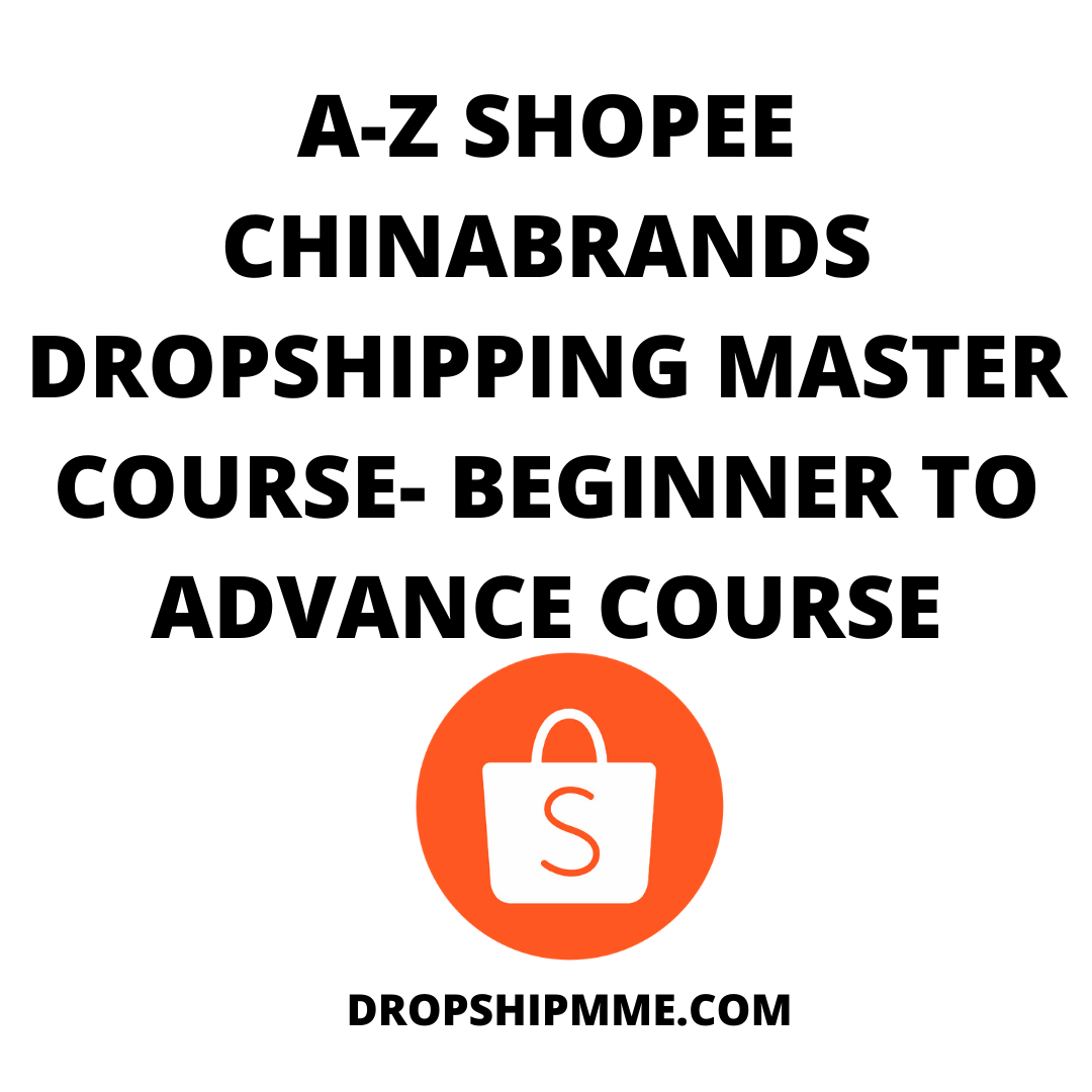 Hi guys i am Weng Honn here. This is a full Shopee Dropshipping masterclass tutorial. You are going to learn Everything from A - Z on how to set up your Shopee dropshipping business from choosing dropshipping suppliers to how to increase your sales.
