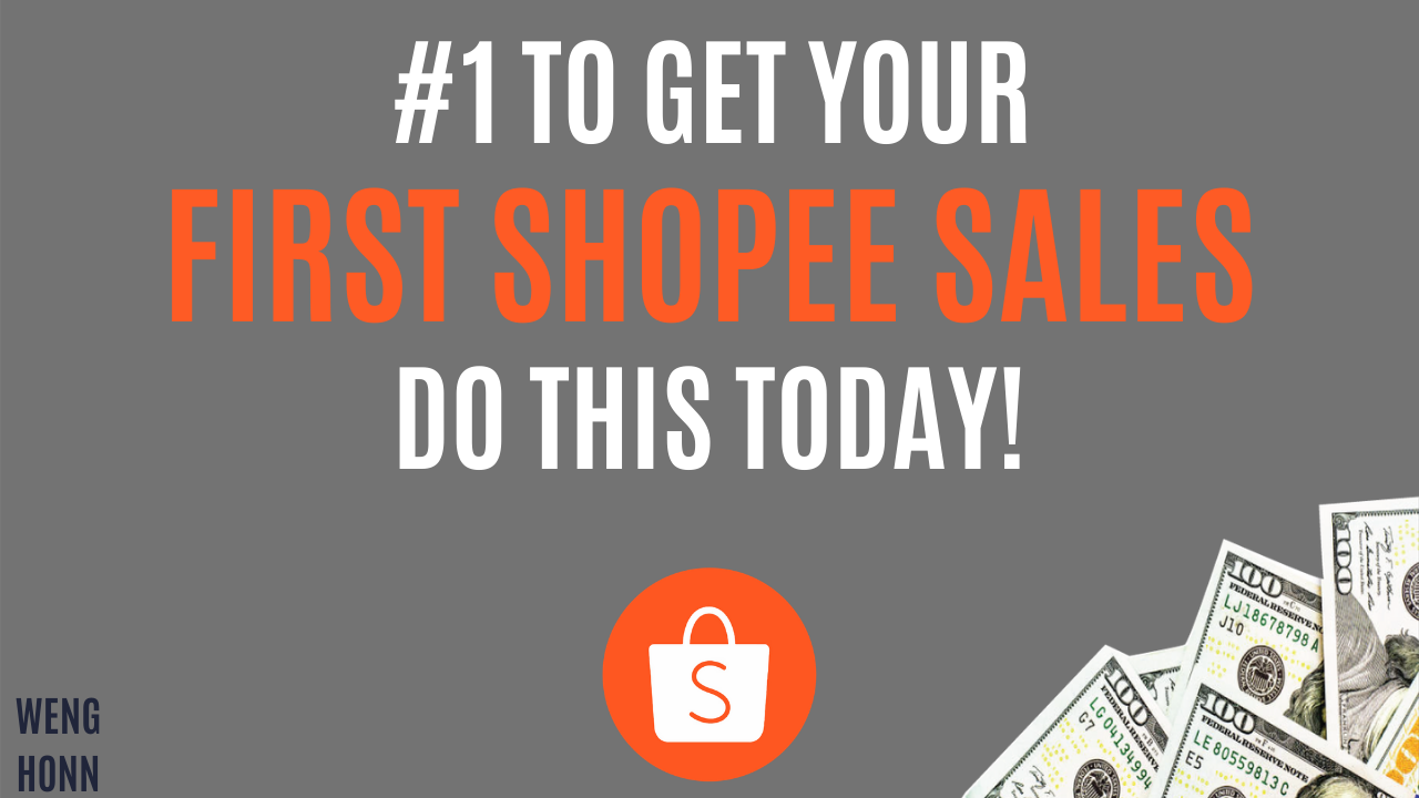 HOW TO MAKE YOUR FIRST SHOPEE_LAZADA DROPSHIPPING SALES_