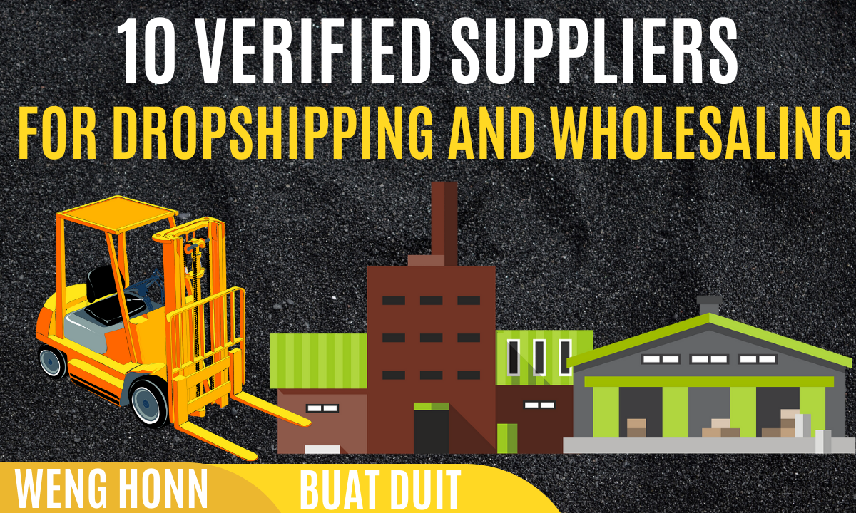 10 VERIFIED SUPPLIERS FOR DROPSHIPPING AND WHOLESALING FOR DROPSHIPPING & WHOLESALING SHOPEE LAZADA