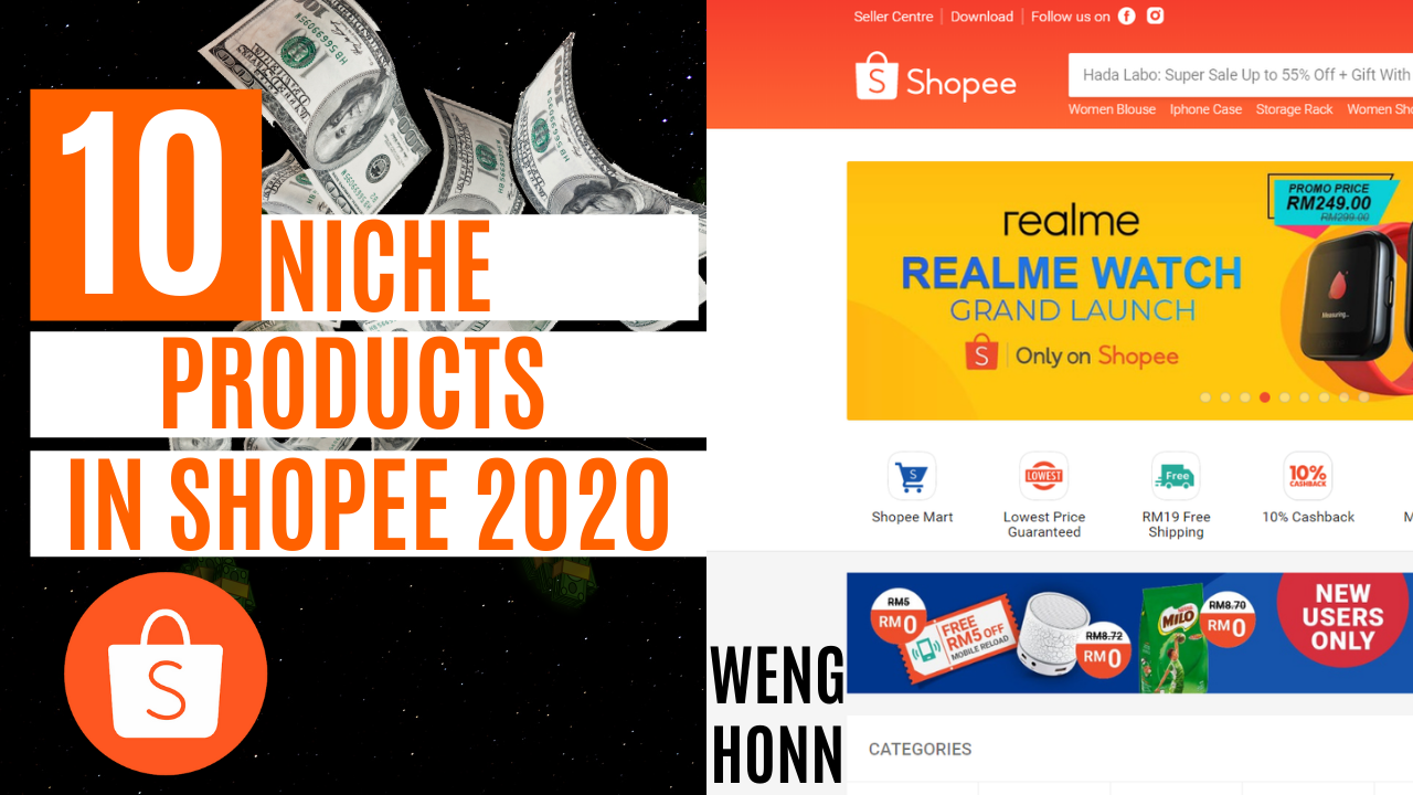TOP 10 NICHE PRODUCTS TO SELL ON SHOPEE 2020 - DROPSHIPPING WITH SHOPEE/STOKIST 2020