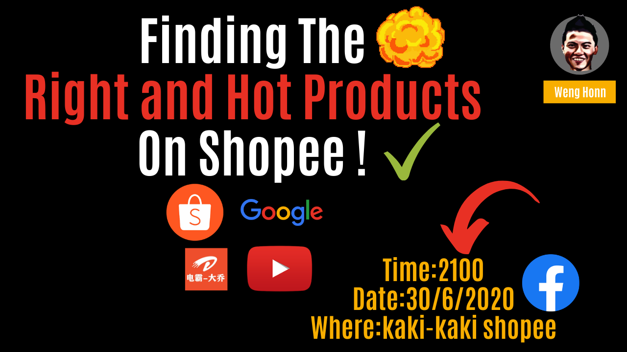 The top guide and tools to search for the top hot and trending products to sell on Shopee for Shopee dropshipper and Shopee stokist 4 Ways To Increase Shopee Dropshipping Sales /Shopee Stokist Revenue , 4 Cara Meningkat kan sales di kedai Shopee anda.