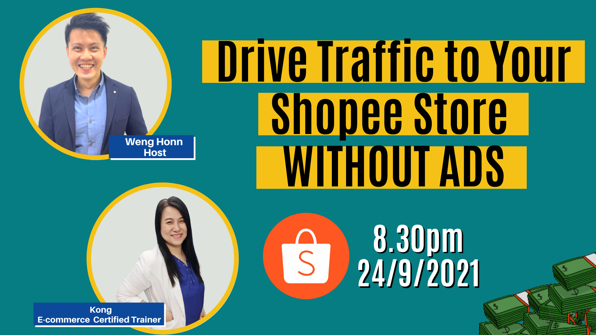 Drive Traffic to Your Shopee Store WITHOUT Shopee ADS